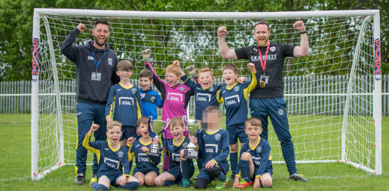 Under 8's cup double
