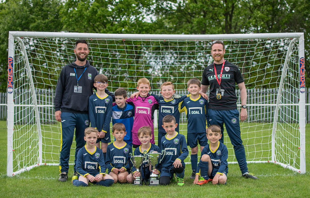 Under 9's Trophy Double