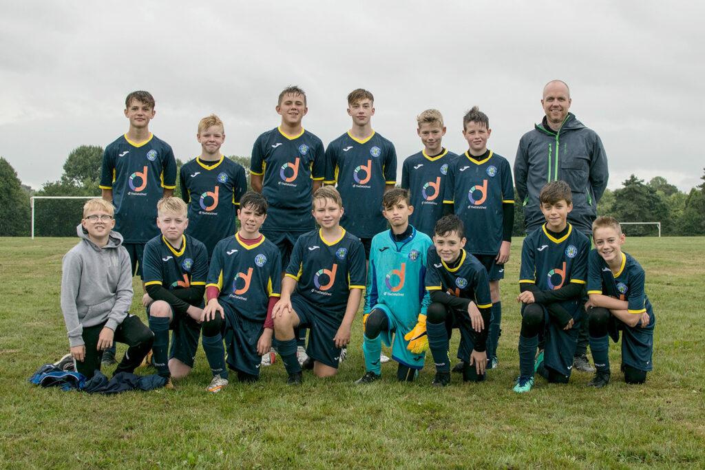 Under 16s Team Photo