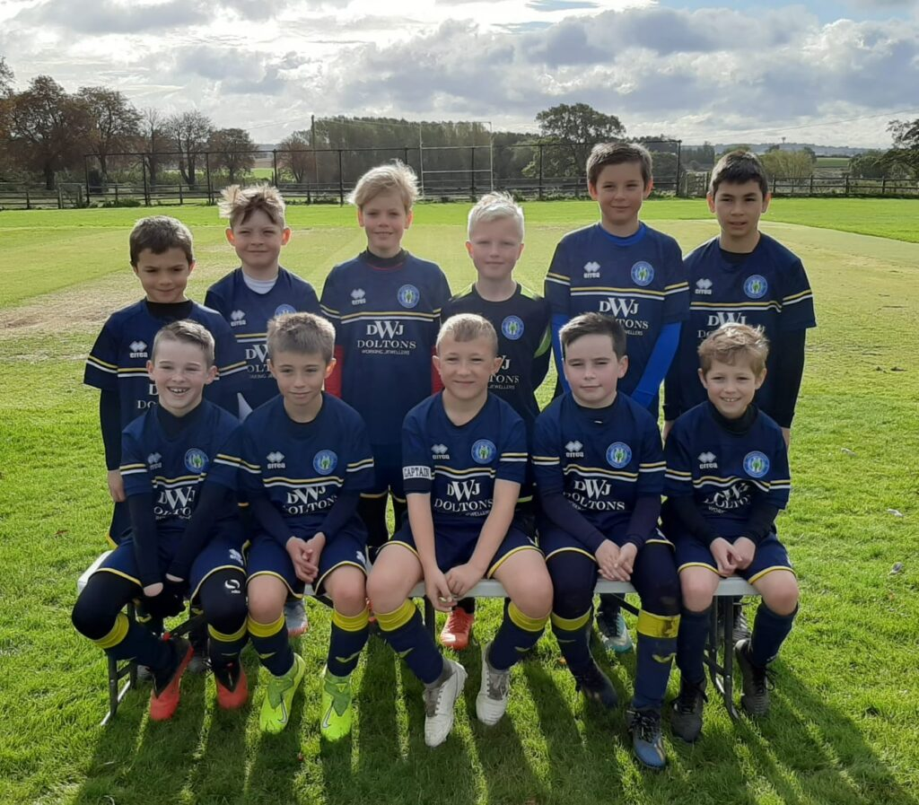 Under 10 Yellow Team Photo 2020-21