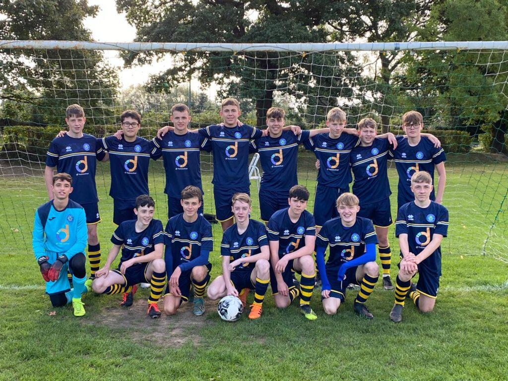 Under 16's Blue Team Photo